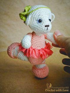 #Crochet with Love. #PonomarenkoHM: Ведмежа-балерина Мері