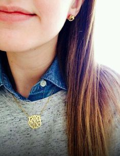 Need a monogram necklace