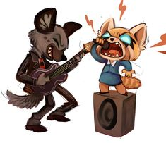 Sharp Art - Aggretsuko drawings.  A day may come when I'll...