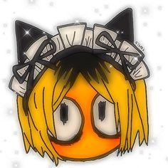 Anime Cat Boy, Chica Anime Manga, Anime Art, Cute Cartoon Wallpapers, Animes Wallpapers, Emoticons, Kenma Kozume, Drawing Expressions, Cute Emoji