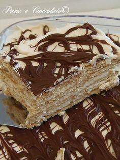 TORTA BISCOTTO MASCARPONE E NUTELLA senza forno, provatela e' facilissima e golosa: http://blog.giallozafferano.it/ricettepanedolci/torta-biscotto-mascarpone-e-nutella-senza-forno/