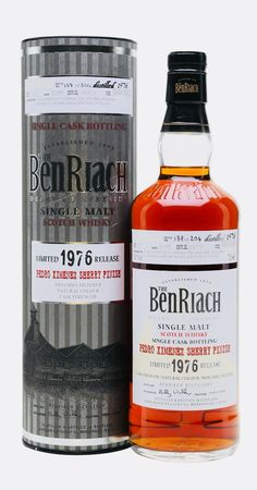 BENRIACH 1976 35 Year Old PX Sherry Finish, Speyside