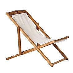 Perfect Beach Chair, or Deck Chair, or Cocktail Chair!  :-)