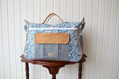 New The Dogwood Travel Duffel bag PDF Sewing by BlueCallaPatterns