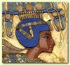Egypt: Detail of Tutankhamun's Throne