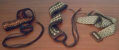 Cinturones telar de tarjetas o tablet weaving