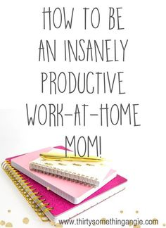Time Management for Moms. How to be an insanely productive work at home mom. Tips for mothers that work from home. Working Mom Tips, Working Mums, Work From Home Tips, Home Based Business, Business Tips, Business Infographics, Creative Business, Business Women, Online Business