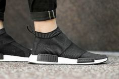 Adidas NMD City Sock Black/White | Sole Collector || Follow FILET. for more street style #filetclothing