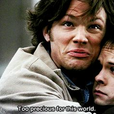 "You still wonder how both of them kept a straight face | Community Post: How You Know You're A ""Supernatural"" Fan"