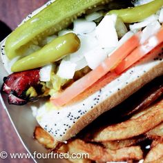 Char Dog at Phil's Last Stand