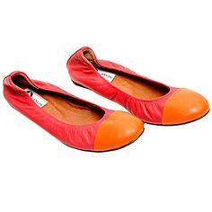 """Lanvin Women's Shoes """"BALLET SHOE"""" Spring/Summer 2012"""