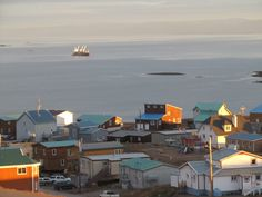 View of Frobisher Bay; our picturesque town takes your breath away.