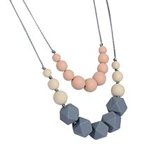 Domire  Silicone Teething Necklace for Mom Wear Food Grade Silicone BPA Free and FDA Approved Chewiness Le No description (Barcode EAN = 0754933222465). http://www.comparestoreprices.co.uk/december-2016-6/domire-silicone-teething-necklace-for-mom-wear-food-grade-silicone-bpa-free-and-fda-approved-chewiness-le.asp