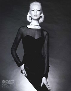 Lili Sumner by Hayley Bayliffe for Remix Magazine Goth, Lily, Magazine, Random, Model, Inspiration, Style, Fashion, Gothic