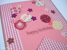 pinterest handmade birthday cards | Silver Boxes: Confetti Birthday Cards