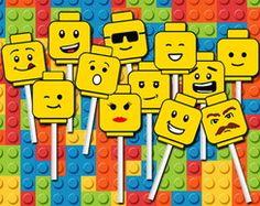 Tags Lego Cabecinhas