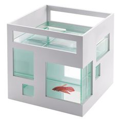 Fish Condo - Decor Pleasing Stylish Stackable Fish Bowl For The Pet You Love
