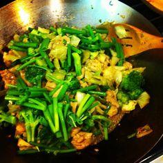 Paleo Chicken Stir Fry Recipe.