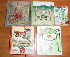 Emerald City of Oz - later editions