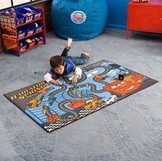 My Boys Room On Pinterest Disney Cars Race Tracks And