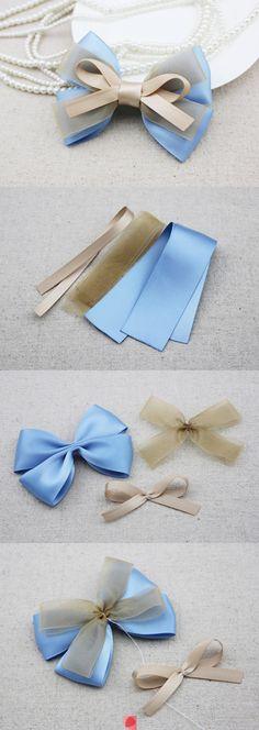DIY custom necklace bow | Woman's heavenWoman's heaven