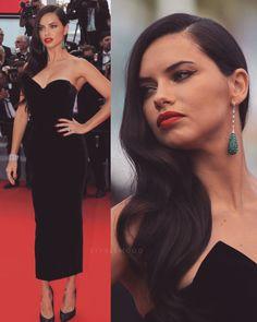 Claudia Schiffer, Irina Shayk, Adriana Lima, Top Models, Brazilian Supermodel, Long Dark Hair, Victoria Secret Angels, Woman Crush, Gorgeous Hair