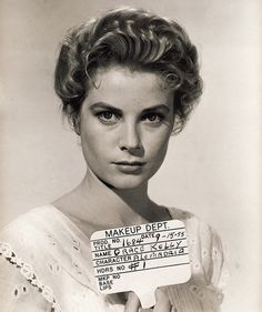 Grace Kelly makeup test for &#8216