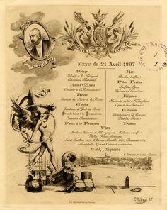 menu-banquet ancien - Recherche Google