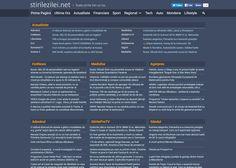 Am refăcut design-ul paginii noastre. Sperăm să vă placă!  Urmăriți toate știrile zilei pe stirilezilei.net Oras, Design