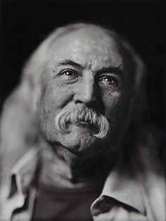 """David Crosby ~ """"We are stardust, we are golden; we are billion year old carbon..."""" Lyric from """"Woodstock,"""" sung by C,S,and N, written by Joni Mitchell"""