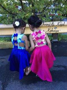 Designer dresses Party wear dresses for kids - ArtsyCraftsyDad Kids Indian Wear, Kids Ethnic Wear, Kids Party Wear, Kids Wear, Dresses Kids Girl, Kids Outfits, Baby Dresses, Kids Lehenga, Kids Gown