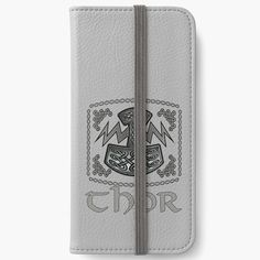 'Thor Celtic God' iPhone Wallet by KrasiStaleva Open Book, Iphone Wallet, Thor, Vikings, Celtic, Canvas Prints, Stuff To Buy, The Vikings, Photo Canvas Prints