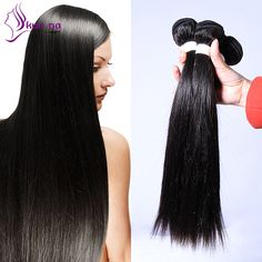 Find More Human Hair Extensions Information about KUN NA Brazilian Virgin Hair…