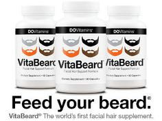 So your beard isn't growing the way you want, its not that super thick Greek statue style beard your long for. Well Beard Vitamins may be your answer