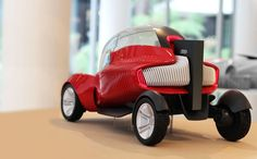 3D printed concept car for AUDI