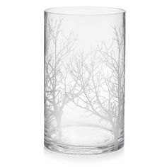 Wilko Tree Etched Vase at wilko.com