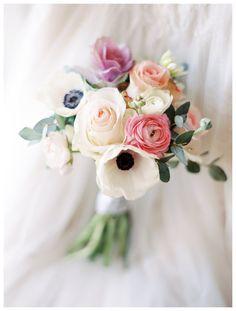 Windmill Winery Wedding Photos - poppy anenome succulent bouquet, bridesmaid bouquet, rustic chic bouquet, vintage bouquet - Rachel Solomon Photography Blog | Alicia and Andrew – Windmill Winery Wedding | http://blog.rachel-solomon.com