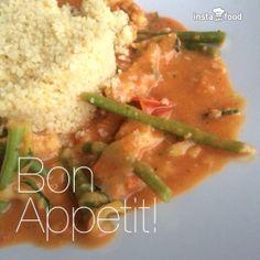 Afrikanischer Erdnusstopf mit Couscous (Vegan) Couscous Vegan, Pasta, Veggie Recipes, Bon Appetit, Ethnic Recipes, Inspiration, Food, Biblical Inspiration, Essen