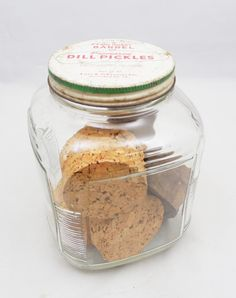 Hoosier Pickle Jar Filled with Corks and by ShellyisVintage