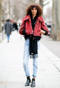 Paris Fashion Week Street Style Fall 2016: The Most Inspiring Outfits | StyleCaster