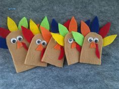 Check out this item in my Etsy shop https://www.etsy.com/listing/209020323/turkey-finger-puppets