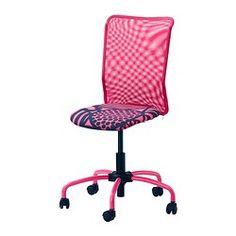 TorbjÖrn Swivel Chair Kvarnatorp Pink Ikea Home Office Study Salon Ideas