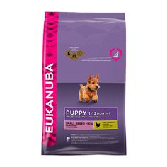 Eukanuba Puppy und Junior kleine Rassen 3kg