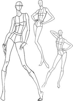 Drawing figures in different poses Fashion Figure Drawing, Fashion Model Drawing, Fashion Design Drawings, Fashion Sketches, Drawing Models, Drawing Faces, Fashion Illustration Poses, Fashion Illustration Template, Illustration Mode