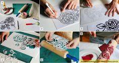 rolos decorativos passo passo