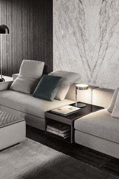 The Yang sofa by Minotti