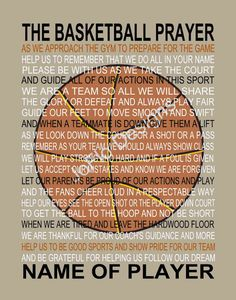 Hey, I found this really awesome Etsy listing at https://www.etsy.com/listing/209887223/the-basketball-prayer-personalized-with
