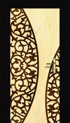 Metal laser cut main door grill in brass antique finish for Door design steel jali