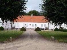 Førslevgård gods ved Fuglebjerg mellem Slagelse og Næstved