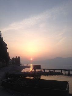 #baiastancabeachbar #gardalake #lagodigarda #sunset
